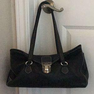 Prada BR2375 Vitello Daino leather shoulder bag